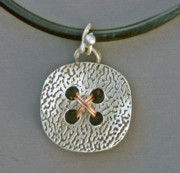 Jewelry Originals - Big Button Pendant by Mirinda Kossoff