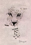 Moignard Prints - Big Cat Print by Barbara Moignard
