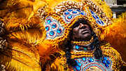 Mardi Gras Art - Big Chief 2 by Shea Trahan