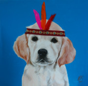 Puppies Originals - Big Chief by Monique Geurts