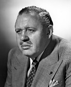 Mustache Framed Prints - Big Clock, Charles Laughton, 1948 Framed Print by Everett