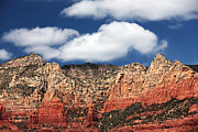 Oak Creek Canyon Prints - Big Clouds Print by John Rizzuto