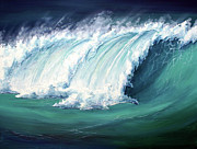 Seascapes Paintings - Big Dreams by Colin Perini