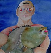 Port Clyde Originals - Big Fish by Kathleen Earle Fox