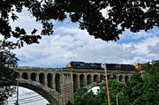 Train Bridge Prints - Big Four Bridge Print by Pamela Baker