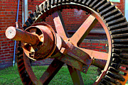 Old Mills Photos - Big Gear by Bob Whitt