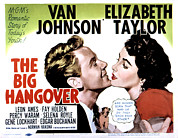 Posth Posters - Big Hangover, Van Johnson, Elizabeth Poster by Everett