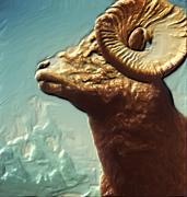 Digitalart Art - Big Horn II by Garry Staranchuk