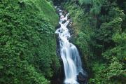 Hamakua Framed Prints - Big Island Watefall Framed Print by William Waterfall - Printscapes