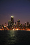 Chicago Skyline Photos - Big John by Timothy Johnson