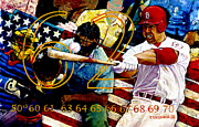 St Louis Cardinals Hall Of Fame Posters - Big Mac Poster by Sean OConnor