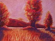 Rural Landscapes Pastels - Big Otter Creek - Sunset by Wynn Creasy