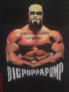 Kama Sutra Paintings - Big Poppa Pump by Sandeep Kumar Sahota