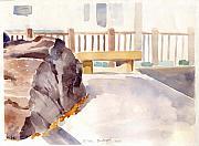 Big Rock 1 Print by Linda Berkowitz