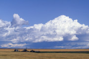 Scenic Photography Prints - Big Sky Farm Print by Susan  Benson