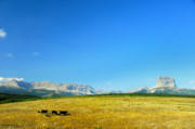 Montana Landscape Photos - Big Sky by Marc Bittan