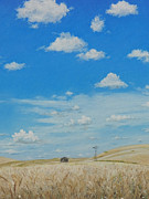 Wheat Pastels - Big Sky by Richard Laycock
