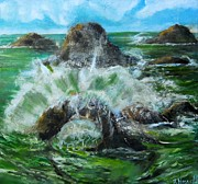 Terrence  Howell - Big Splash at Goat Rock