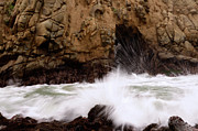 Water Flowing Framed Prints - Big Sur 1 Framed Print by Bob Christopher