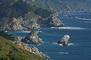 Surf Art - Big Sur Coast by Gregory Scott