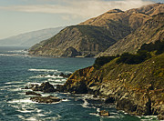 Sea Route Framed Prints - Big Sur Framed Print by David Cordner