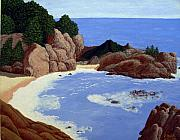 Big Sur Beach Originals - Big Sur by Frederic Kohli