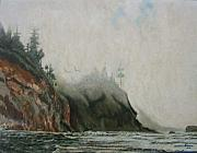 Shrouded Paintings - Big Sur by Howard Stroman