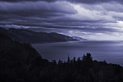 Storm Metal Prints - Big Sur Storm Metal Print by Matt  Trimble