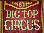 Wagon Photos - Big Top Circus by Kristin Elmquist
