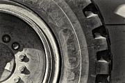 Construction Equipment Prints - Big Wheel Print by Patrick M Lynch