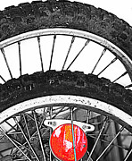 Mj Prints - Big Wheels Keep on Turning Print by Jerry Cordeiro