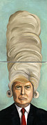 Election Posters - Big Wig Poster by Leah Saulnier The Painting Maniac