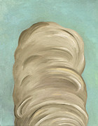 Wigs Posters - Big Wig Part 2 of Diptych Poster by Leah Saulnier The Painting Maniac
