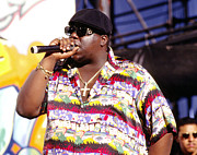 Biggie Posters - Biggie  Notorious B.I.G.1995 Poster by Chris Walter