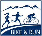 Jogging Prints - Bike Cycle Run Race Print by Aloysius Patrimonio