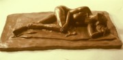 Erotic Sculptures - Bikini Babe  by Harry  Weisburd