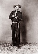 Detectives Metal Prints - Bill Bennett, Wild West Detective Metal Print by Everett