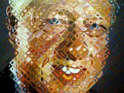 Bill Clinton Prints - Bill Clinton Print by Ed Weidman