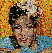 Billie Holiday Posters - Billie Poster by Denise Landis