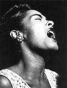Singing Metal Prints - Billie Holiday (1915-1959) Metal Print by Granger