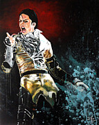 Billie Painting Originals - Billie Jean by David  German