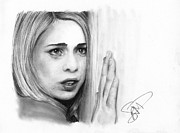 Who Drawings - Billie Piper by Rosalinda Markle