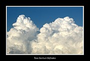 Sofranko Framed Prints - Billowing Clouds 1 Framed Print by Rose Santuci-Sofranko