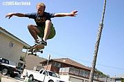 Skate Photo Originals - Billy Davidson Pierpont I 2005 by Ken  Volok