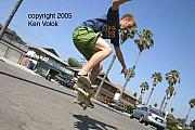 Skate Photo Originals - Billy Davidson Pierpont II 2005 by Ken  Volok