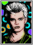 Billy Idol Art - Billy Idol by Otis Porritt
