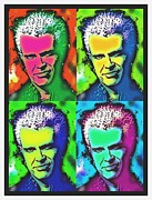 Billy Idol Art - Billy Idol-popped by Otis Porritt