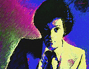 Rock Star Portraits Digital Art - Billy Joel by John Travisano
