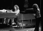 Concert Photos Art - Billy Powell on Piano by Ben Upham