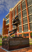 Oklahoma University Prints - Billy Sims Print by Ricky Barnard
